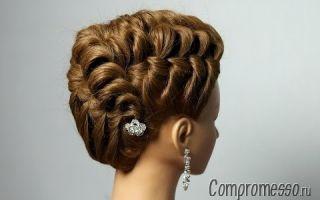 Прически с плетением на выпускной: красивые варианты для разной длины волос