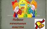Сценарий открытия недели начальной школы: идеи мероприятия
