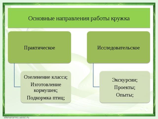 Цели экологического воспитания младших школьников