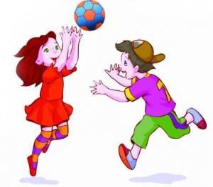 Подвижные игры для младшей группы