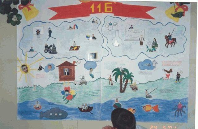 Стенгазета на последний звонок 11 класс: делаем стенгазету в школу на последний звонок своими руками