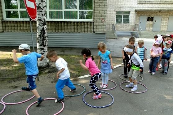 Подвижные игры на прогулке