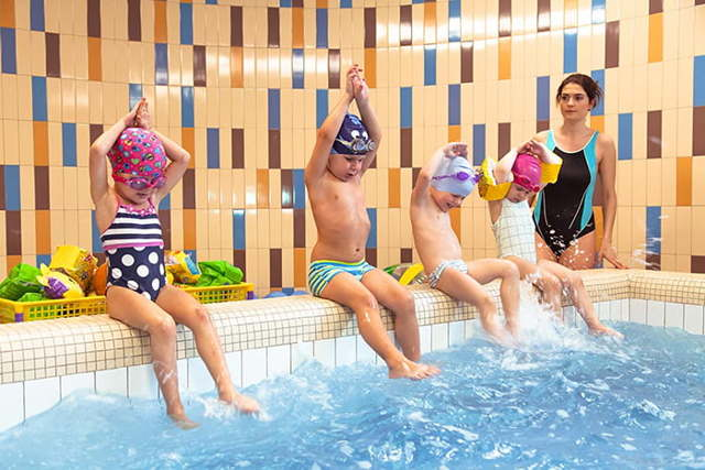 Подвижные игры на воде