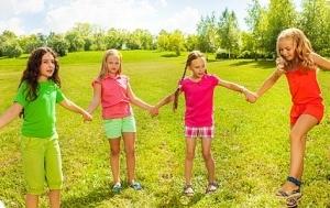 Подвижные игры для девочек