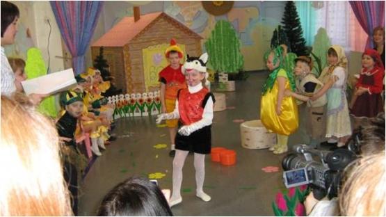 Сценарий спектакля для школьников «Репка»